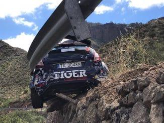 Abandons Rallye des Iles Canaries 2017