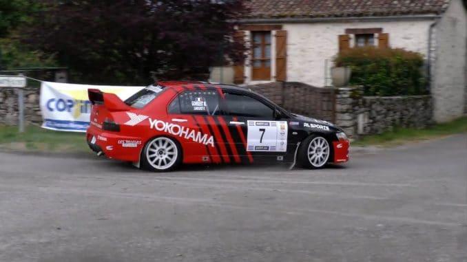 Liste des engagés Rallye des 100 Vallées 2017 - Classement Rallye du Quercy 2017. Paul Lamouret vainqueur du Quercy 2017.
