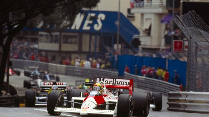Les 6 grands moments du Grand Prix de Monaco - Senna