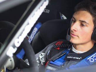 Nicolas Ciamin, veut engranger un maximum de roulage en vue du JWRC. Photos : Nicolas Millet