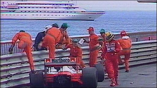 Circuit de Monaco Le virage 8, le virage Senna