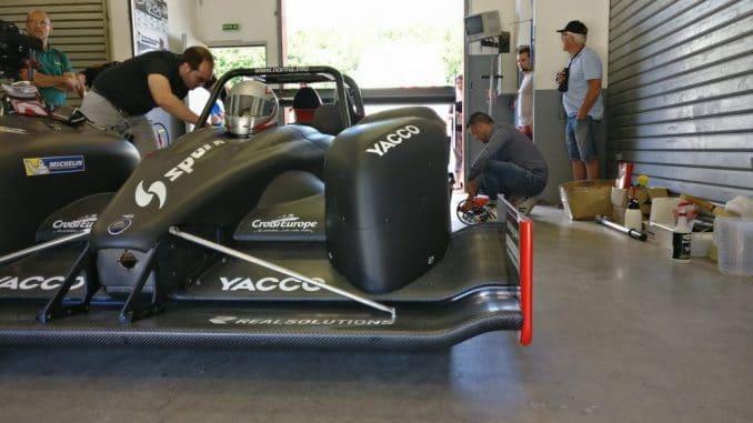 Dumas teste sa Norma pour Pikes Peak 2017. (c) : Pole mécanique d'Ales