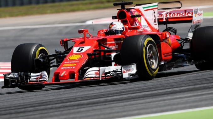 « No chance , no chance », s'exclame Vettel à la radio