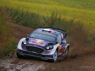 WRC 2017 : C'est parti en Pologne. La pluie arrangerait bien les affaires d'Ogier