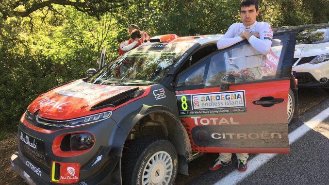 Rallye Sardaigne 2017 (ES1 à ES5) : Craig Breen ne marquera pas de points cette fois. (c) : DR