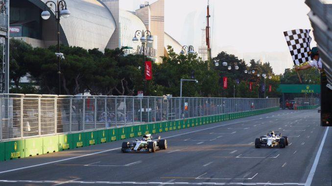 F1 : Un Grand Prix fou à Bakou