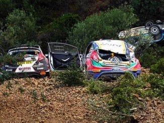 Abandons Rallye Chypre 2017