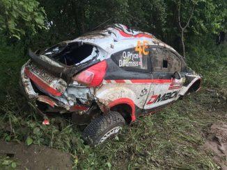 Abandons Rallye Pologne 2017