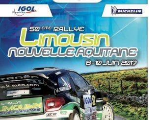Programme Rallye du Limousin 2017
