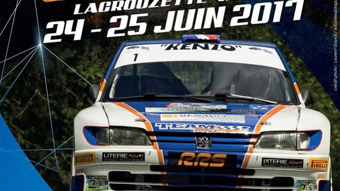 Programme Rallye du Sidobre 2017