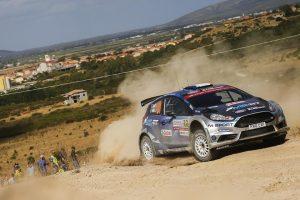Rallye Sardaigne 2017 Jour 1 : Camilli en tête du WRC-2. (c) : DR