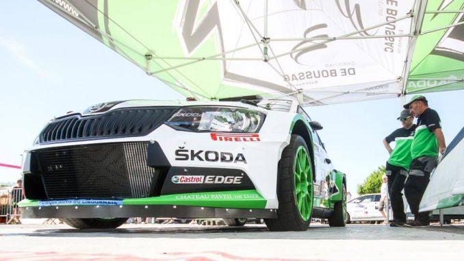 Liste des engagés Rallye du Sidobre 2017. Team De Boussac. (c) : Damien Saulnier