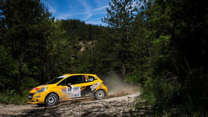 Classement Rallye Terre du Diois 2017. De Mevius intraitable en 208 Rally Cup. (c) : Bastien Roux