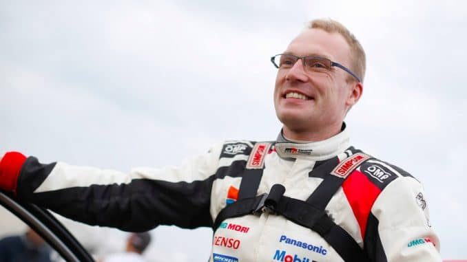 WRC Pologne2017 Jour 1 Jari Matti Latvala rentre en troisième position ce soir
