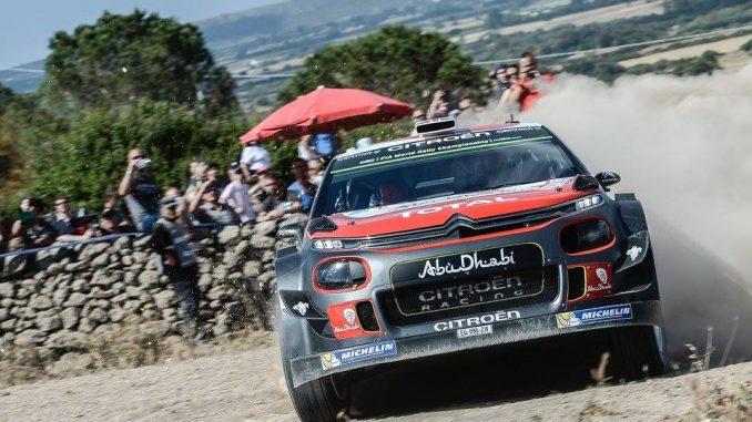 Rallye Sardaigne 2017 (ES1 à ES5) : une nouvelle sortie pour Meeke. (c) : DR