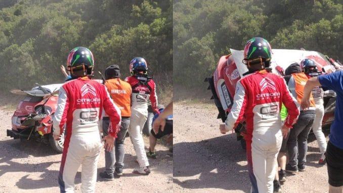 Abandons Rallye Sardaigne 2017
