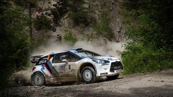 Classement Rallye Terre du Diois 2017. Noel Tron victorieux pour son retour. (c) : Bastien Roux