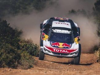 Peugeot 3008 DKR Maxi en approche. (c) : Peugeot Sport