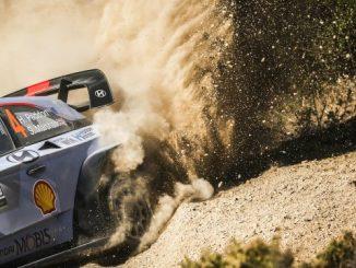 Rallye Sardaigne 2017 Jour 1 : Paddon en tête
