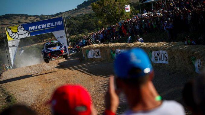Rallye Sardaigne 2017 (ES1 à ES5) : Hayden Paddon leader provisoire. (c) : DR