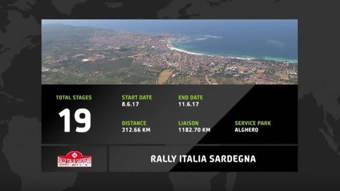 Parcours Rallye Italie 2017