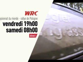 Programme TV Rallye Pologne2017