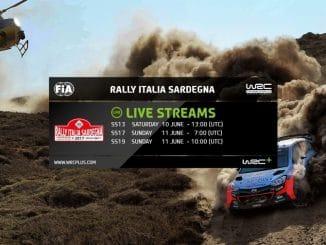 Programme TV Rallye Sardaigne 2017