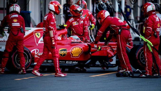 Kimi Raikkonen a connu un we difficile à Bakou (c) : Ferrari