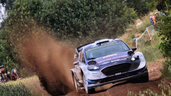 WRC Pologne2017Jour 1 pour Neuville . Teemu Suninen signe son premier scratch en WRC.