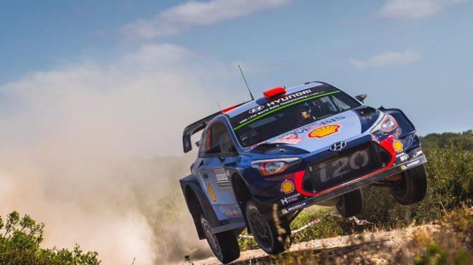 Rallye Sardaigne 2017 (ES1 à ES5) : Sordo malchanceux. (c) : DR