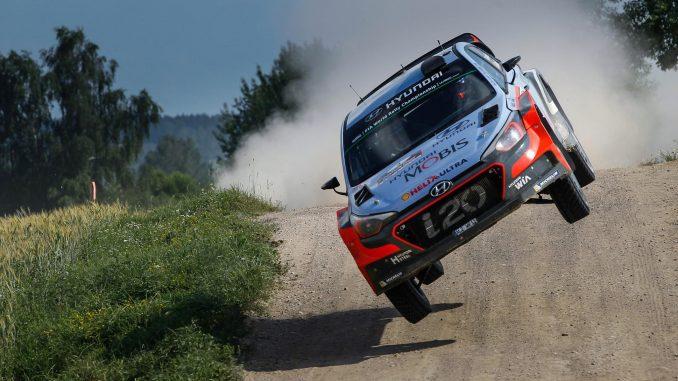 Tests pré Rallye de Pologne 2017. (c) : DR