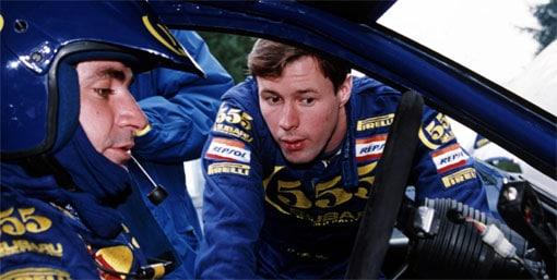 Carlos Sainz et le regretté Colin McRae . Loeb et Ogier réunis à RallyLegend