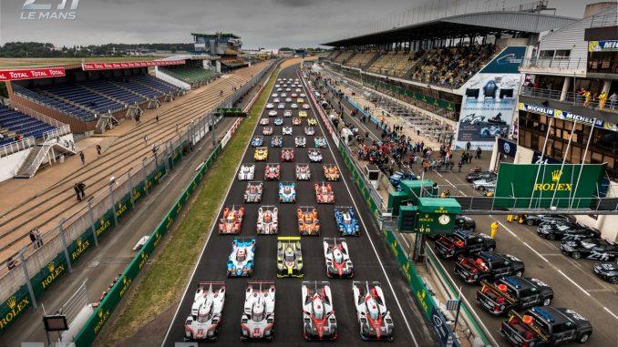 Les voitures des 24 Heures du Mans 2017