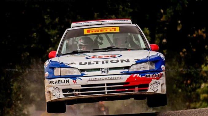 Loeb au Var avec la 306 Maxi