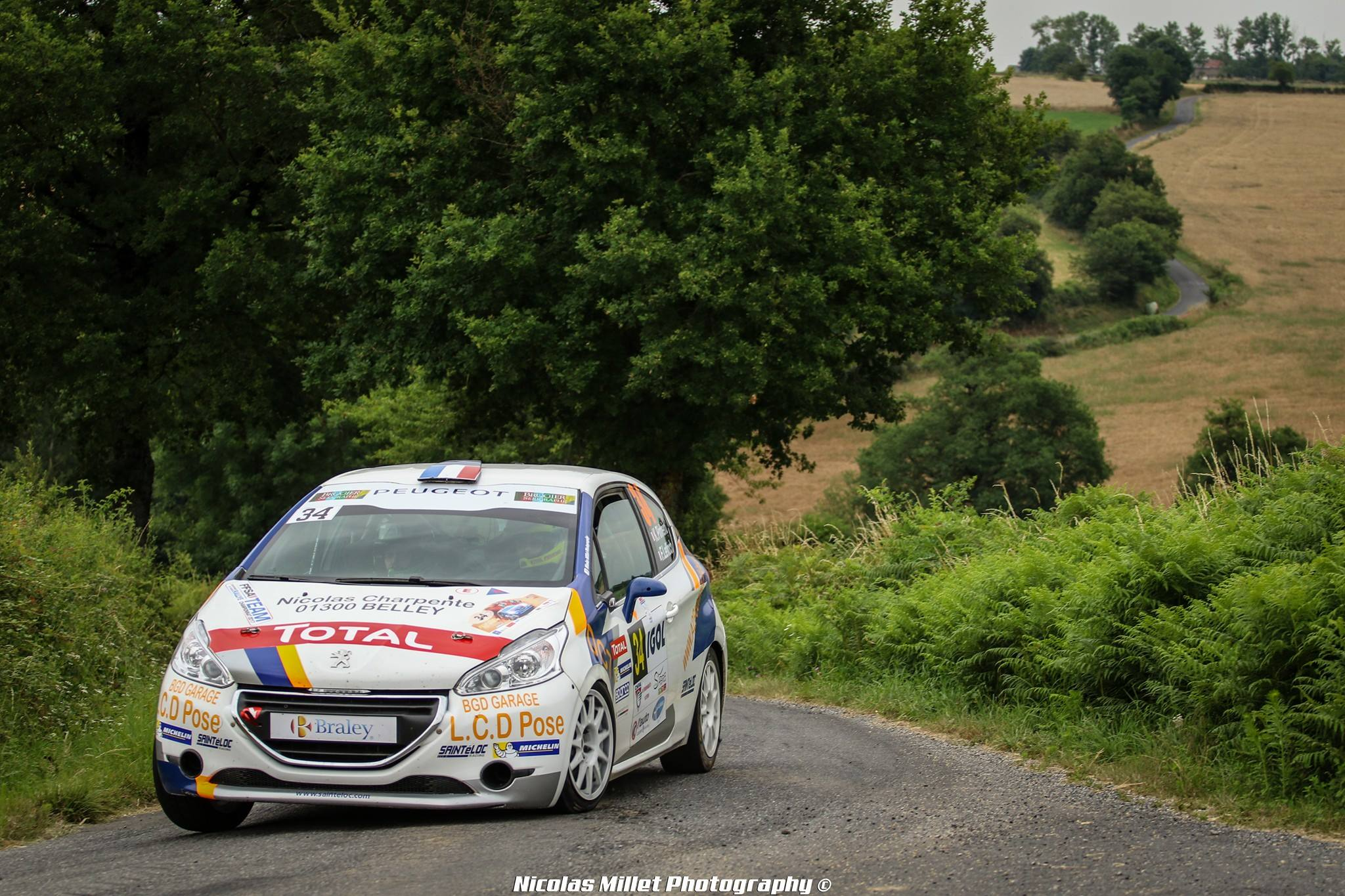 208 Rally Cup : Pellier comme chef de file