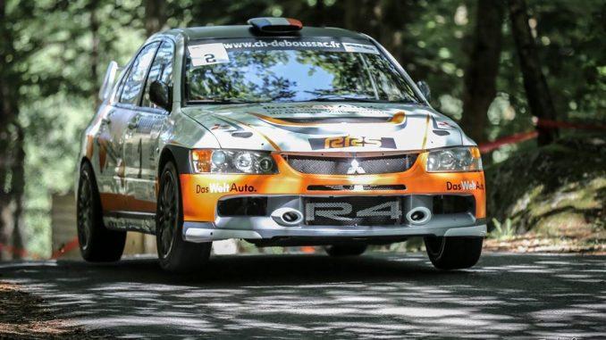 Engagés Rallye du Chasselas 2017. Alexandre Bourrel est l'un des favoris Photo (c) : Fred Ouvette