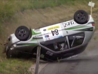Crash Rallye Bourgogne Côte Chalonnaise 2017