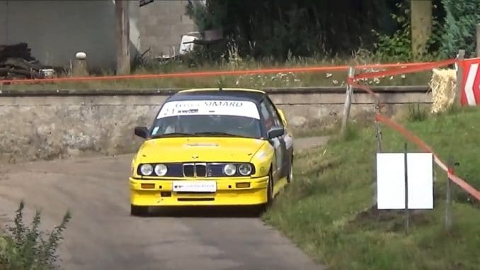 Crash Rallye du 14 Juillet 2017