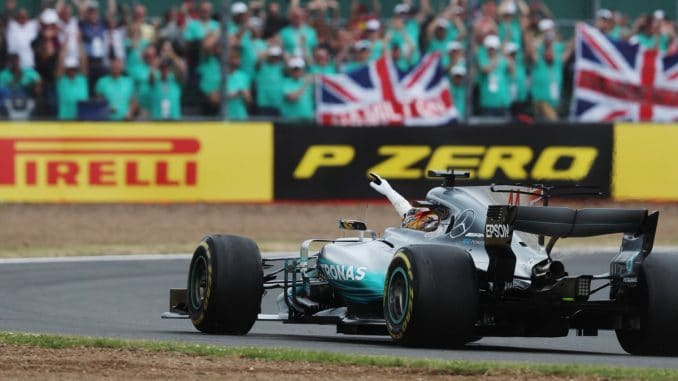 F1 Grande-Bretagne : Hamilton reçu 5 sur 5