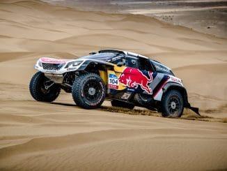Tonneaux pour Loeb au Silk Way Rally 2017