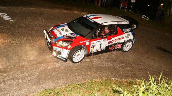 Liste des engagés Rallye Terre de Lozère 2017 Martinique Rallye Tour 2017 : Jean-Jo au dessus