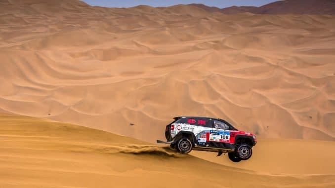 Silk Way Rally 2017 Etape 12 : Lavieille toujours jeune