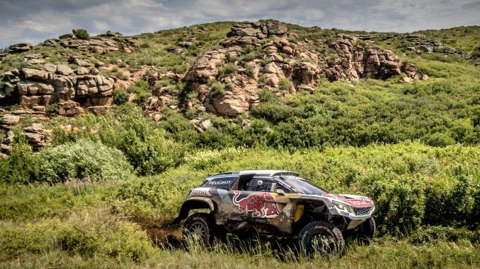 Silk Way Rally 2017 Etape 6 : Loeb contrôle