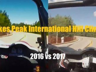 Pikes Peak Dumas 2016 vs Dumas 2017
