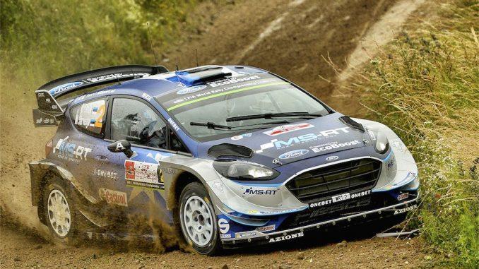 WRC Pologne 2017 Jour 2 : Tanak revient fort ! (c) : DR