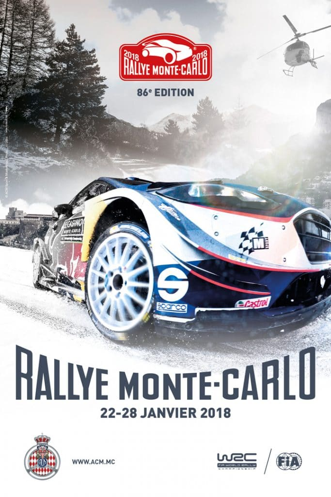 rallye monte carlo 2018 pilote de course. Black Bedroom Furniture Sets. Home Design Ideas