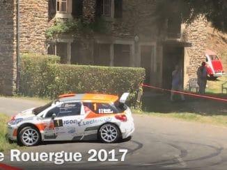 Vidéos Rallye du Rouergue 2017