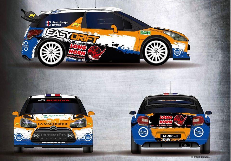 La DS3 WRC de Simon Jean-Joseph pour le Lozère