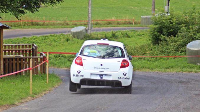 Paulu Battistu Halter au Rallye de laFourme d'Ambert 2017