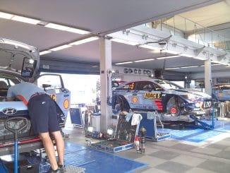 Classement shakedown Rallye d'Allemagne 2017